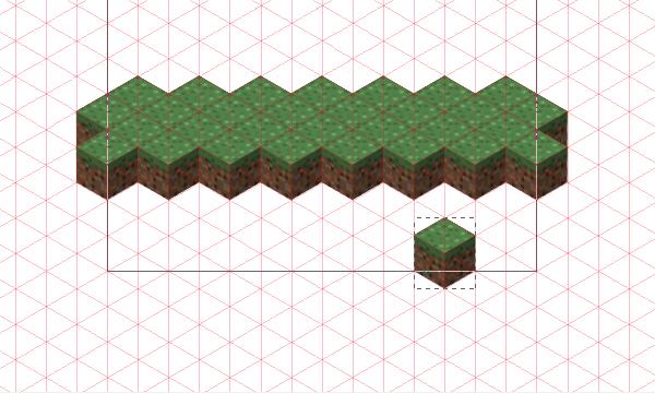 start placing grass