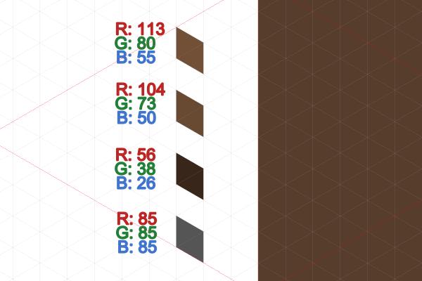 dirt block colors