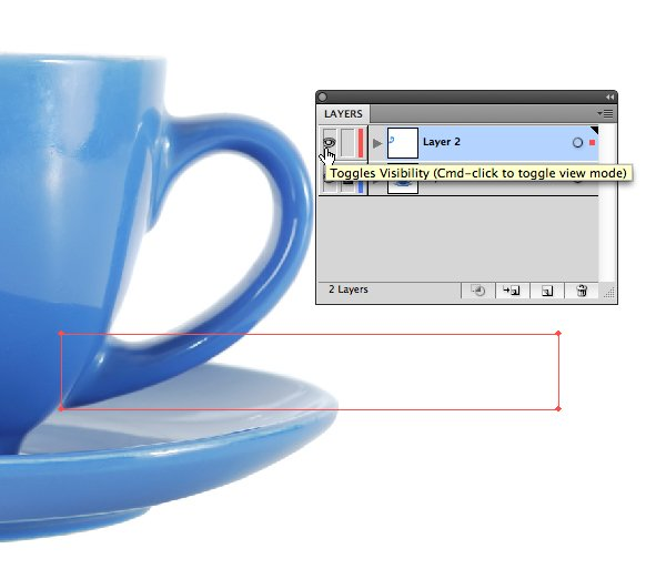 Command (Windows: Control)-click the Layer's eyeball to put that layer into Outline mode.