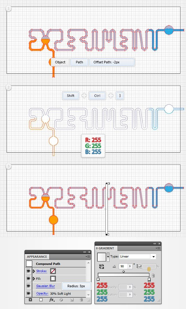 Chemistry Text Effect