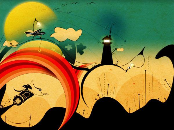 wallpaper art 15 wonderland