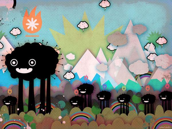 wallpaper art 4 Herd
