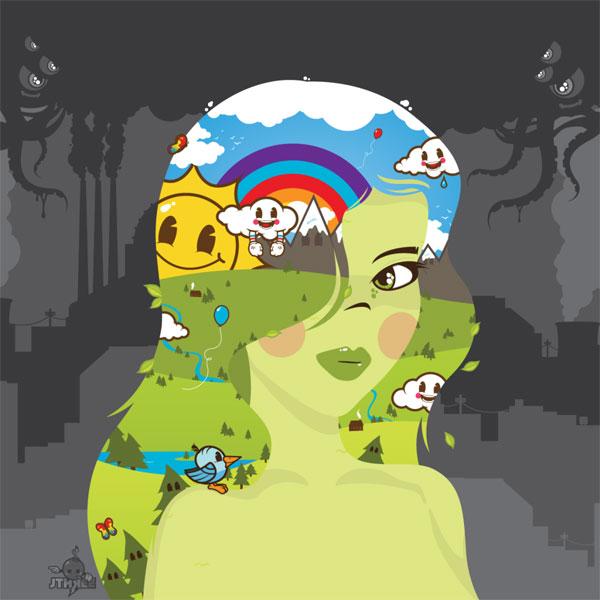 wallpaper art 1 mother nature