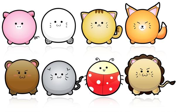 6-cute-vector-animals