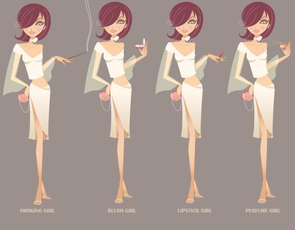 beauty characters