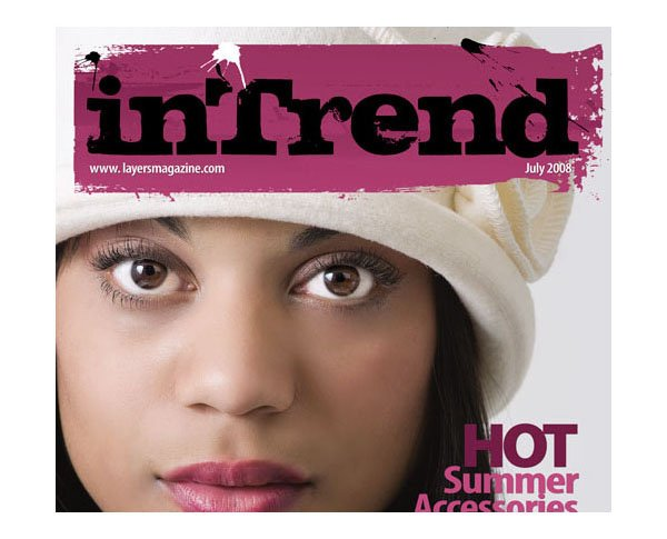 Magazine Cover Design in InDesign