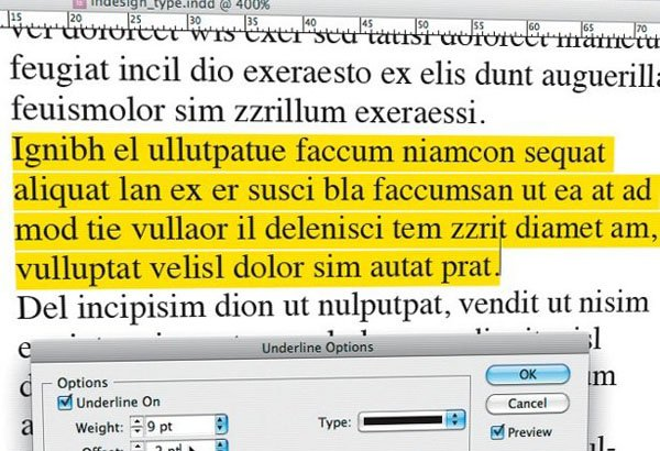 Work with Type in InDesign