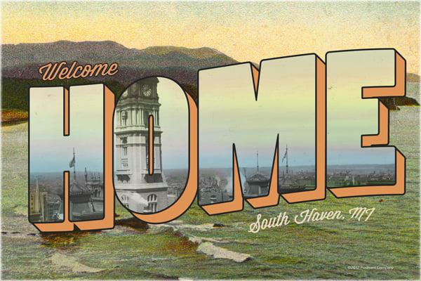 Vintage Type Postcard Illustrator Tutorial