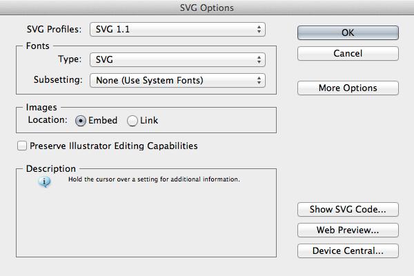 ligature-svg-options