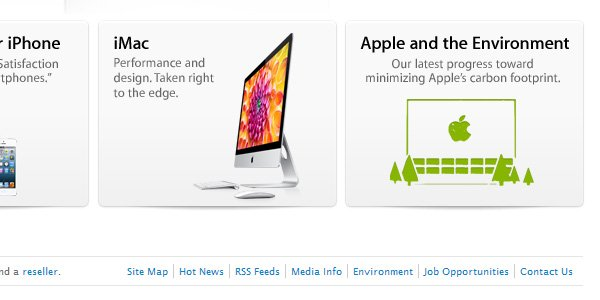 apple contact us in footer