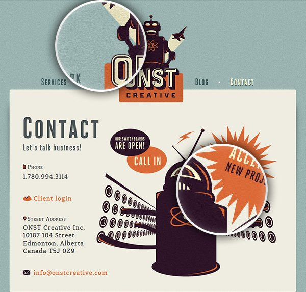 Heavy Noise over at Onst Creative