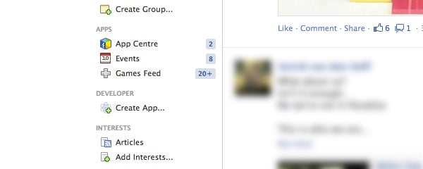 Facebook uses so many icons, they act more as decoration.