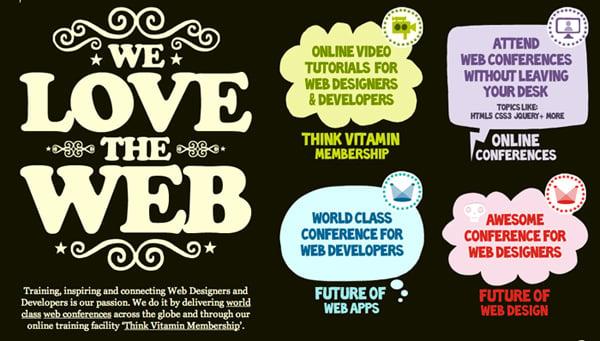 web typography inspirational