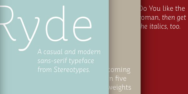 Free Web Fonts for Typography