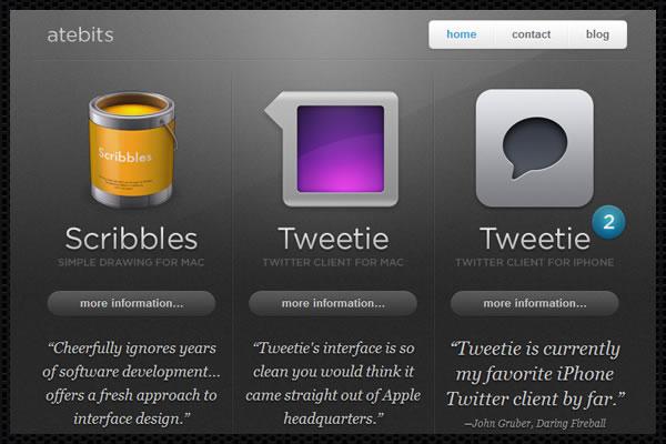 Web Design Trends : App Influence 1