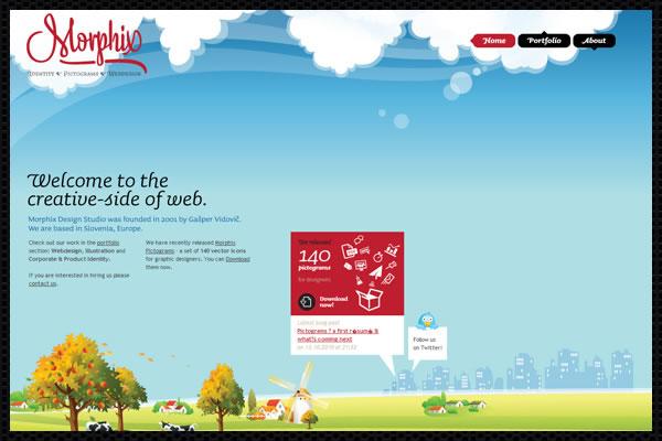 Web Design Trends : Web Design Big Images 6