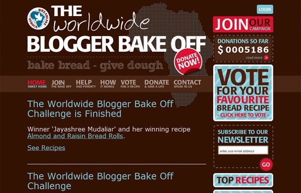The Blogger Bake Off