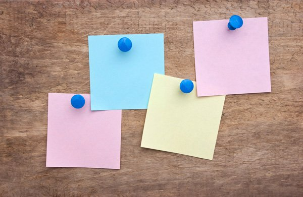 What do your users wantneed to do Post-it notes are great way to brainstorm tasks
