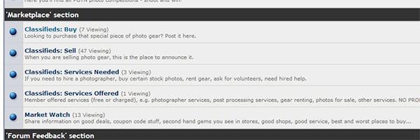 Marketplace-phototurs