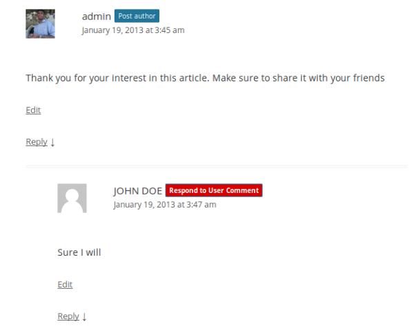 highlight new replies