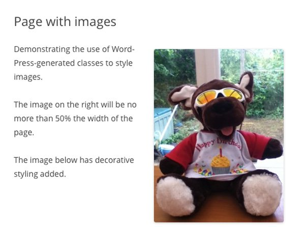 wordpress-generated-classes-IDs-3-images-screen-resized-with-styling