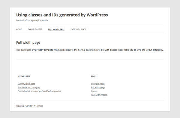 wordpress-generated-classes-IDs-5-full-width-page-template