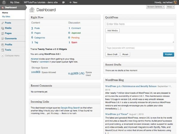 customizing-the-wordpress-admin-part2-dashboard-before-changes