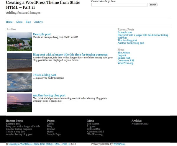 creating-wordpress-theme-from-static-html-archive-template-with-featured-images-styled