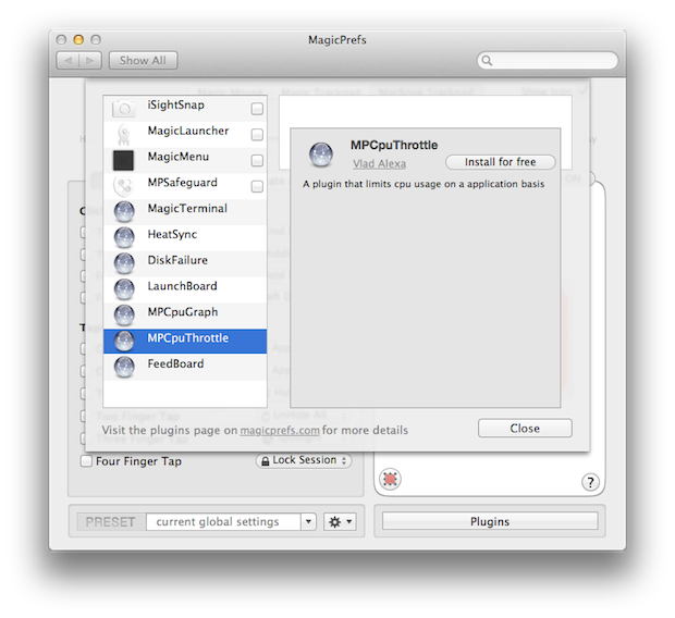 Improving the app with plugins.