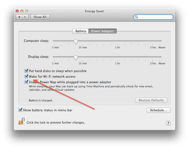 Consider checking this box for continuous streaming capability.
