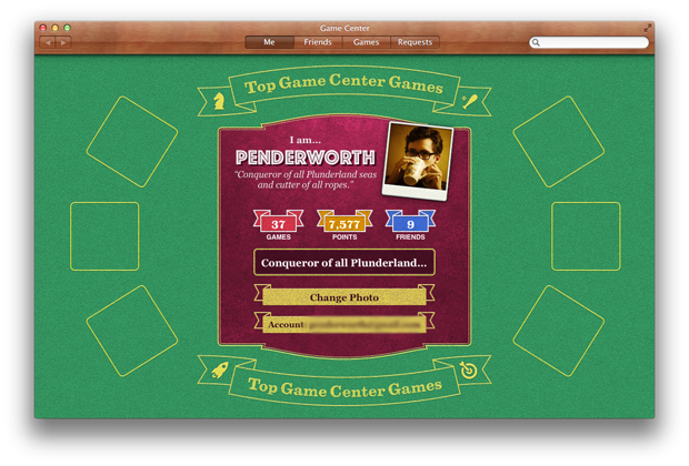 Game Center is a great way to play with friends.