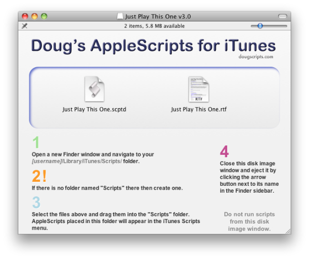 Installing the Script