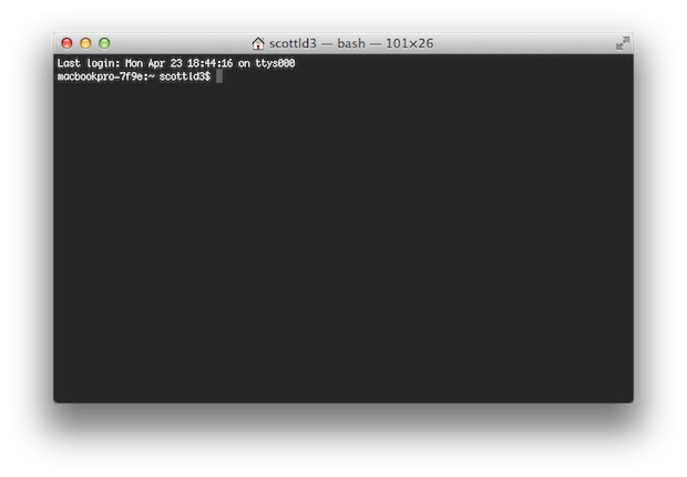 Terminal is a powerful tool for those who know how to use it