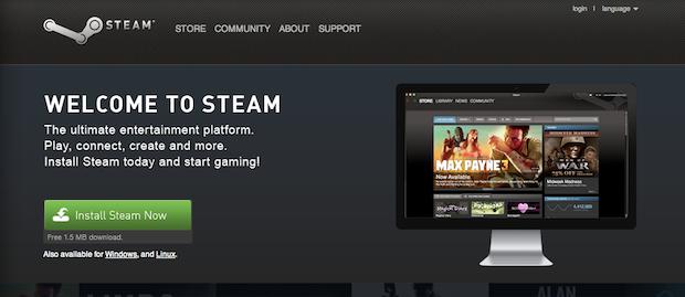 Steam install