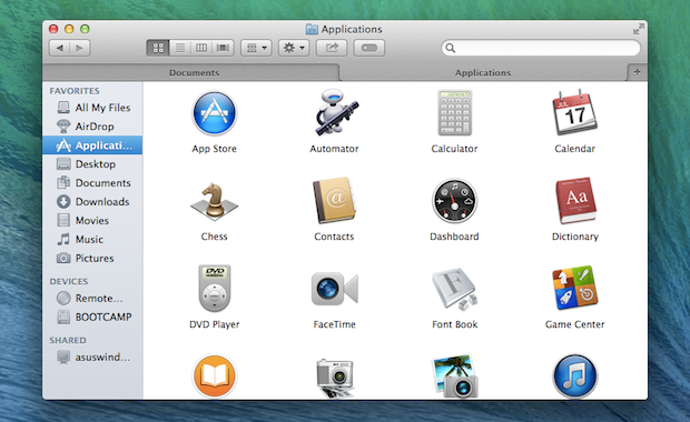 The interface for tabs in Finder is identical to the setup you're used to in Safari.