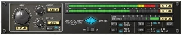 The Precision Limiter from UAD
