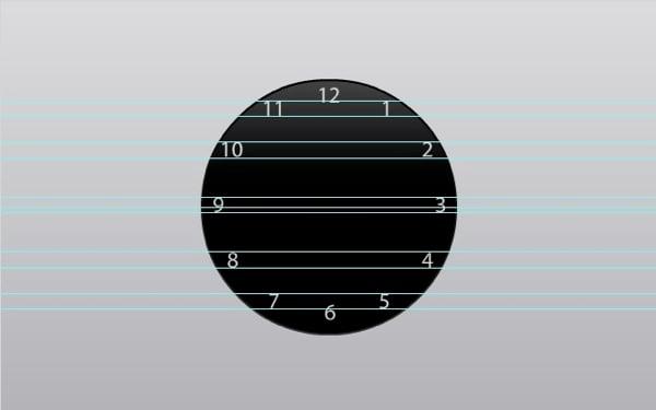 flash clock analog