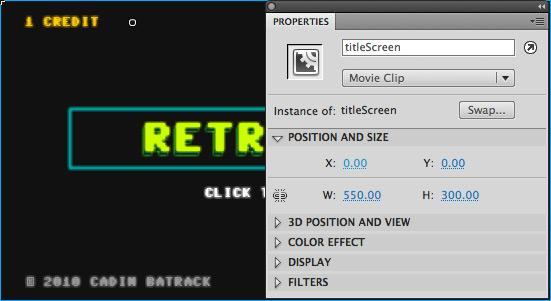 titleScreen Instance