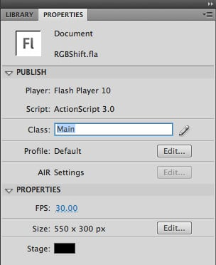 Set the Document Class