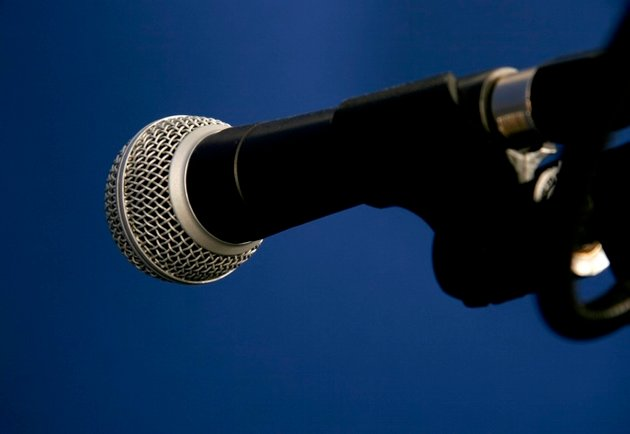 Studio dynamic microphone. Photo: PhotoDune.
