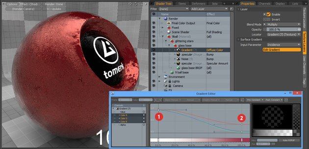 Cgtuts+ Tutorial Creating advanced materials in Luxology Modo