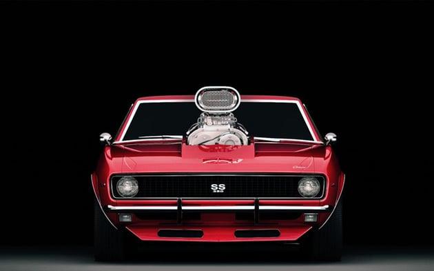 Cgtuts+ 1968 Chevy Camaro Render critique