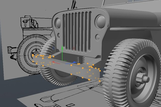 Tutorial Modeling a High Poly World War II Willys Jeep in Modo Cgtuts