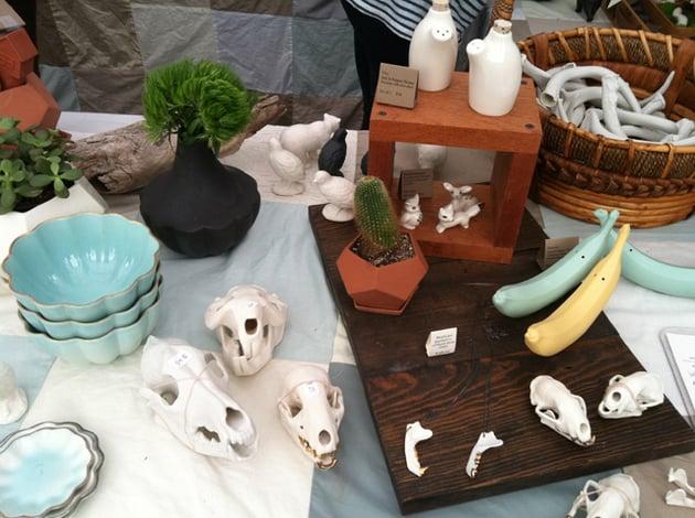 Renegade Craft Fair stall photo.