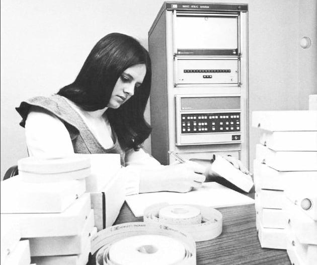Vintage office photo