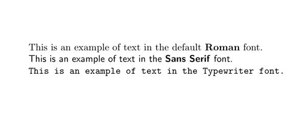 TeX Fonts
