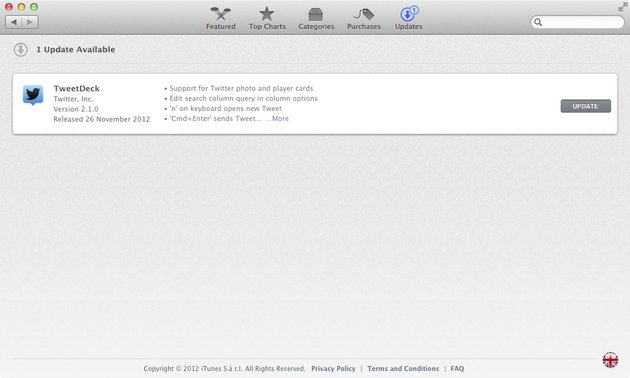 Software Updates are now found in the App Store since the introduction of Mountain Lion