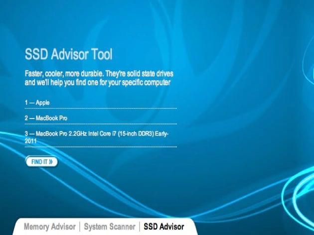 SSD Advisor Tool