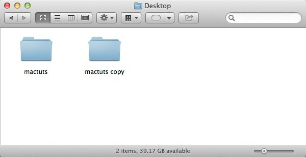 """Duplicate the folder we've been working with and rename it, adding """".popclipext"""" to the end"""