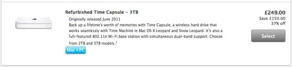 A discount of 37% from Apple! With one-year Apple warranty.